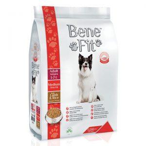Benefit Orta Boy Irk Yetişkin Köpekler İçin Kuzu Etli ve Pirinçli 12 Kg
