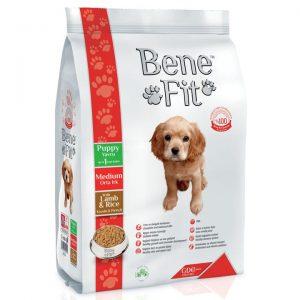 Benefit Orta Irk Yavru Köpek İçin Kuzu Etli&Pirinçli 12 kg