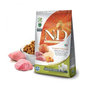 N&D BalKabaklı Tahılsız Yaban Domuzlu Elmalı Orta Ve Büyük Irk Yetişkin Köpek Maması 2,5 Kg