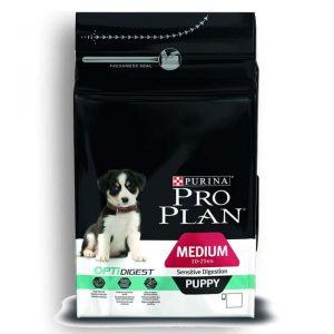 Pro Plan Opti Digest Orta Irk Yavru Köpek Maması Kuzu & Pirinç 3 Kg