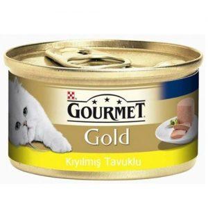 Pro Plan Gourmet Gold Kıyılmış Tavuk Etli Kedi Konservesi 85 Gr
