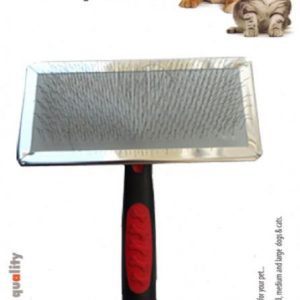 Luxury Paws Plastik Saplı Metal Fırça Large 14 cm