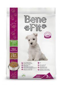 BENEFİT Küçük Boy Yavru Köpek İçin Kuzu Etli&Pirinçli  3 KG