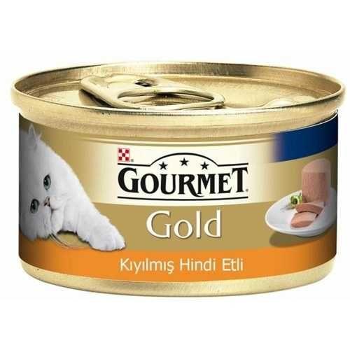 Pro Plan Gourmet Gold Kıyılmış Hindi Etli Kedi Konservesi 85 Gr