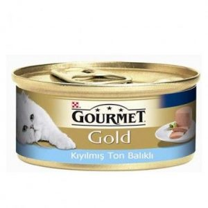 Pro Plan Gourmet Gold Kıyılmış Ton Balıklı Kedi Konservesi 85 Gr