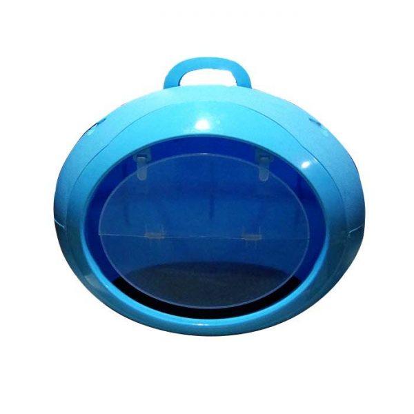 Kapalı Kedi&Köpek Tuvaleti Mavi
